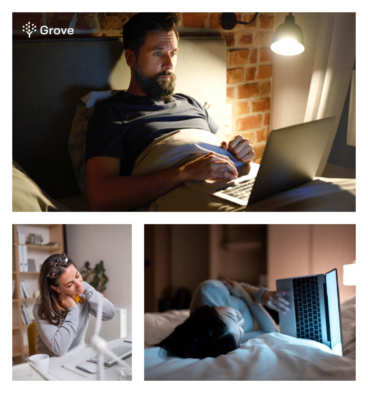 Grove HR - tech neck when working from home