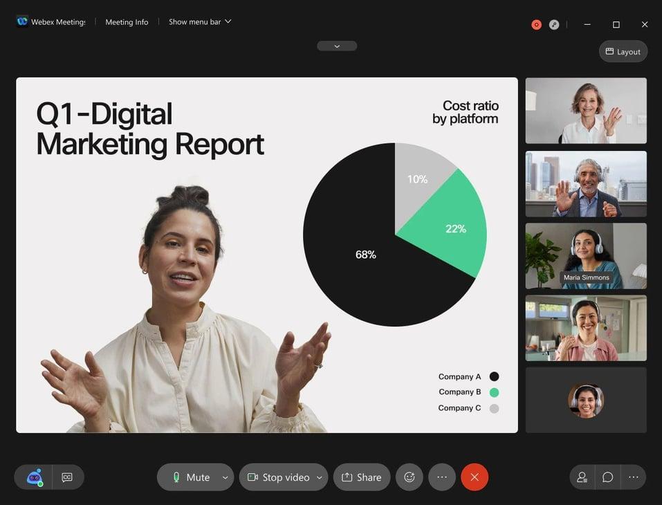 Grove HR - Online meeting tool - Webex