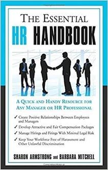 Grove HR - HR books - The essential HR Handbook