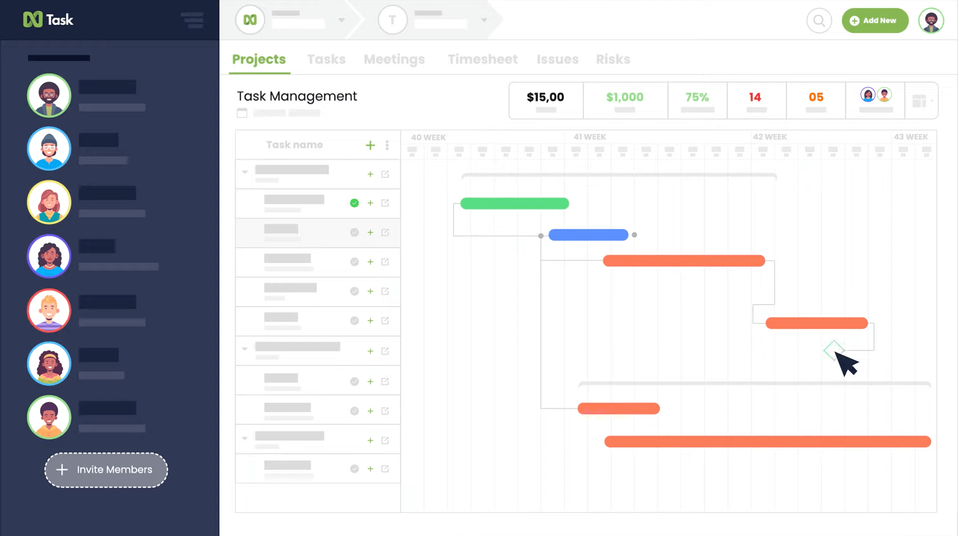 Grove HR - Productivity app - Ntask-min