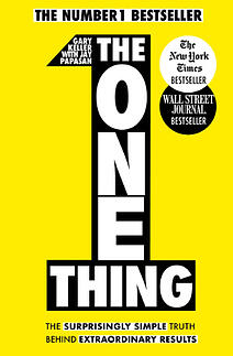 Grove HR - Productivity books -  The one thing