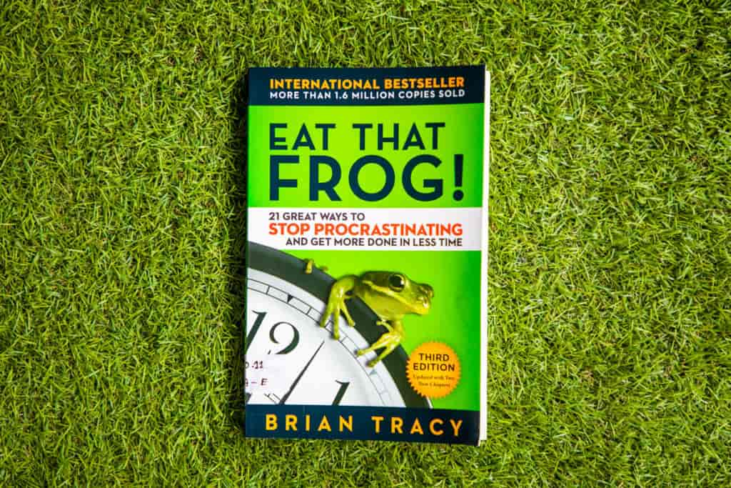 Grove HR - Productivity books - eat that frog
