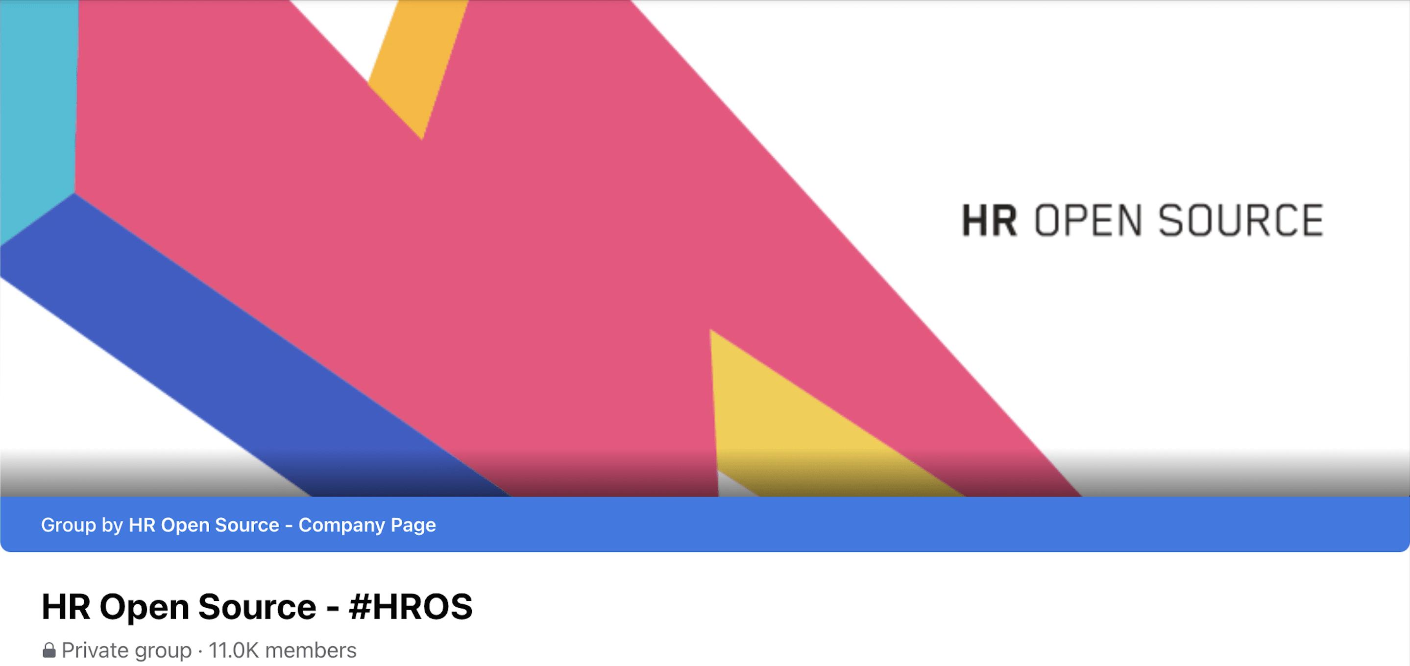 Grove HR - HR Facebook group - HR Open Source