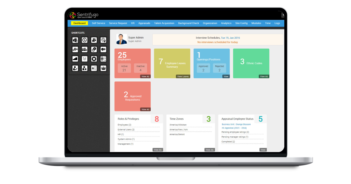 Grove HR - Top 10 best free HR software for SMBs that actually work in 2021