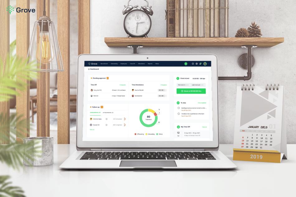 Grove HR screenshot - Best free HR software