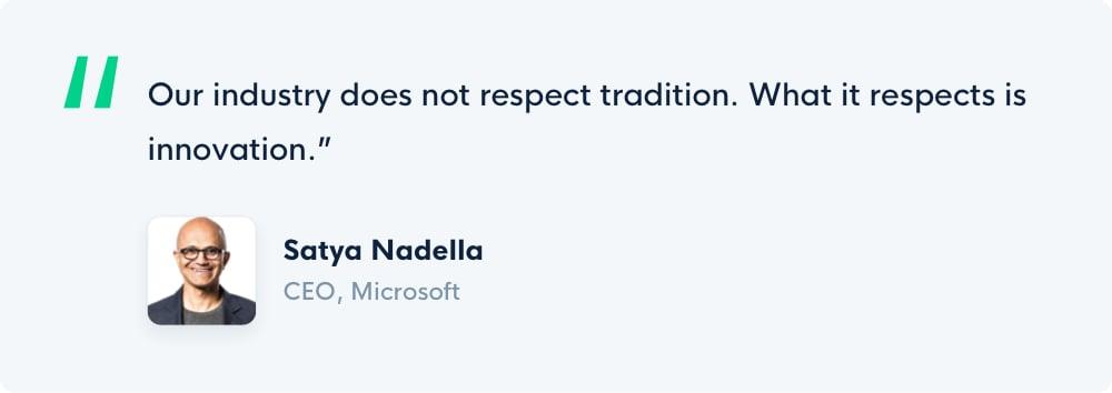 Grove HR - Satya Nadella quotes