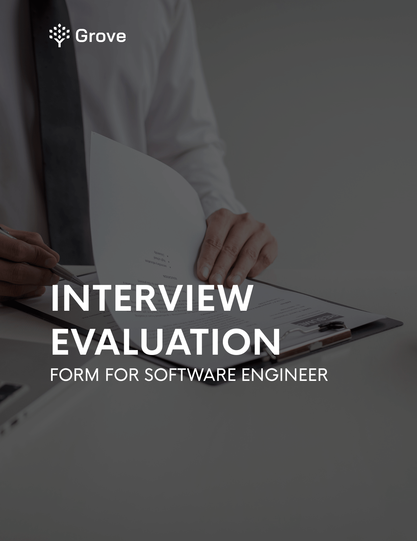 Grove HR - Interview evaluation form for SE s1