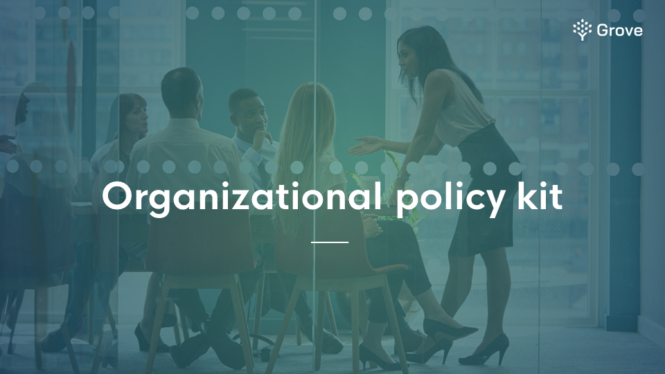 Grove HR - Organizational policy kit thumbnail