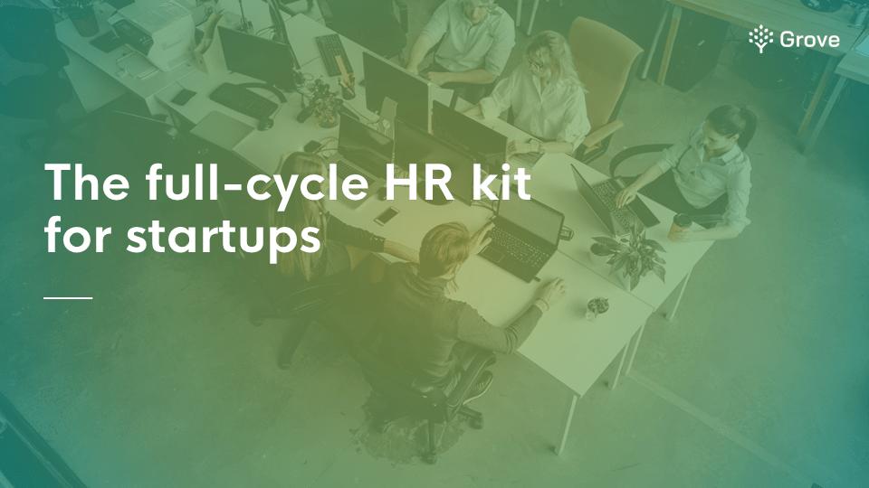 Grove HR - The full-cycle HR kit for startups thumbnail ver 2