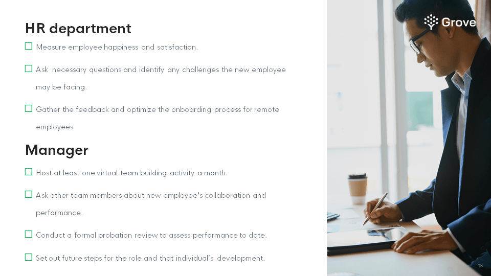 Grove HR - The complete onboarding kit for new hires screenshot