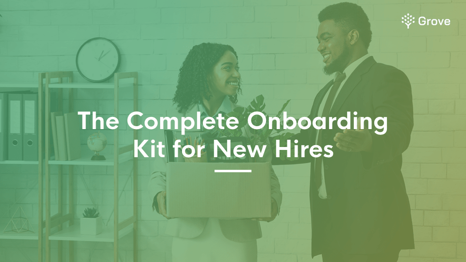 Grove HR - The complete onboarding kit for new hires