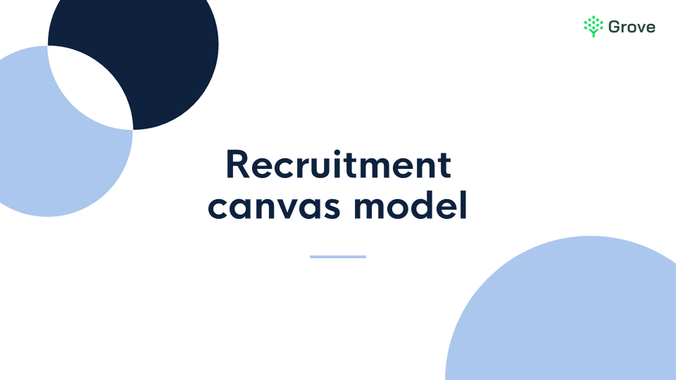 Grove HR - Recruitment canvas model