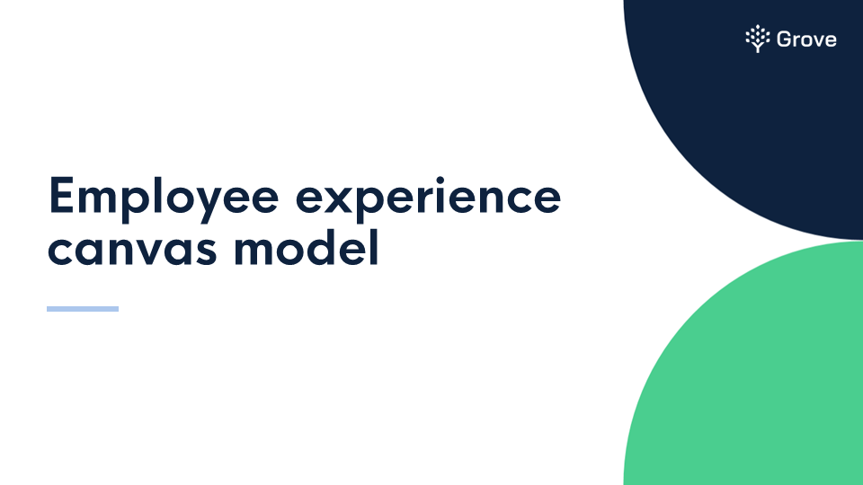 Grove HR - Employee experience canvas model