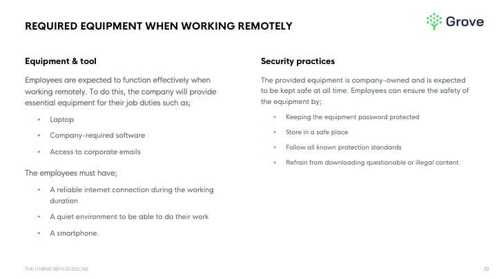 Grove HR - The hybrid work from home guideline template slider 3-1
