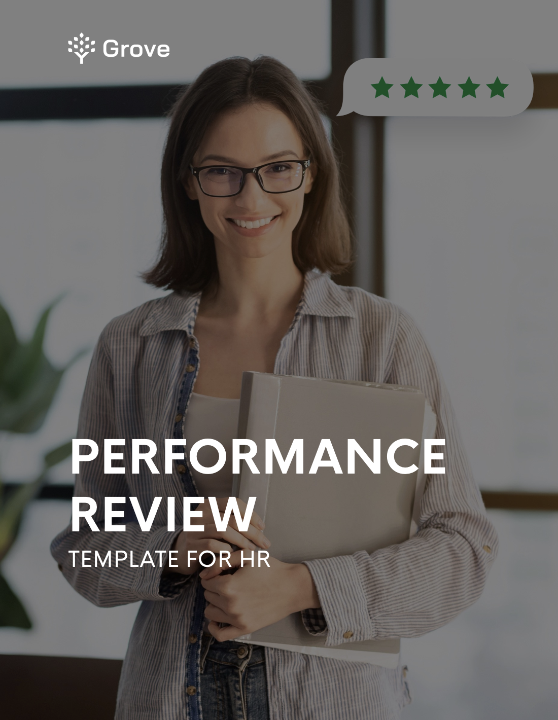 Grove HR - HR specialist performance review template slider 1