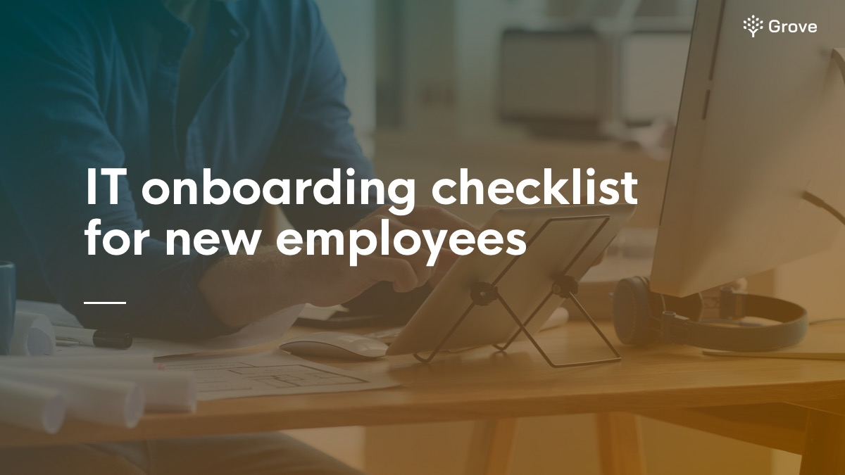 IT onboarding checklist for new employees (Final file)