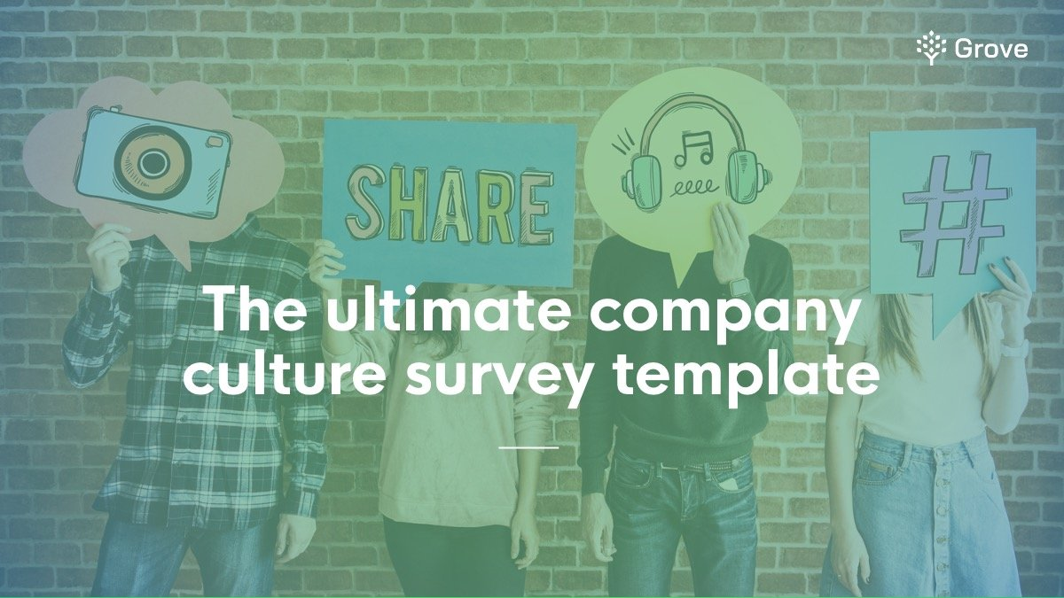 Grove HR - company culture survey template