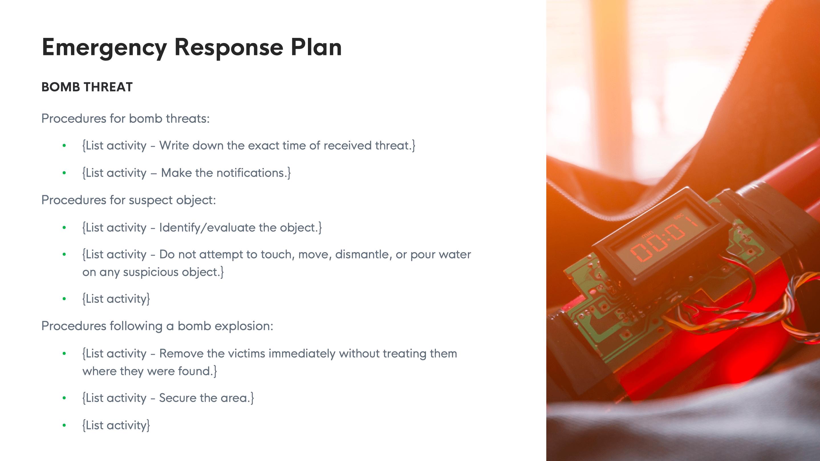 crisis management kit screenshot